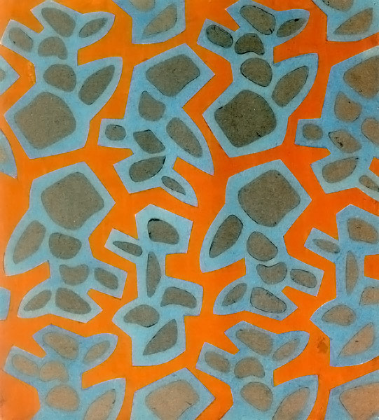 Patterns in famous art - photo#19