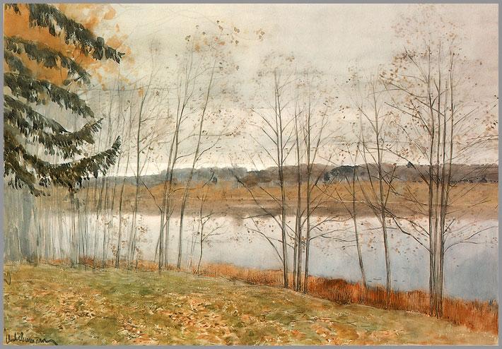 俄罗斯风景油画作品欣赏图片